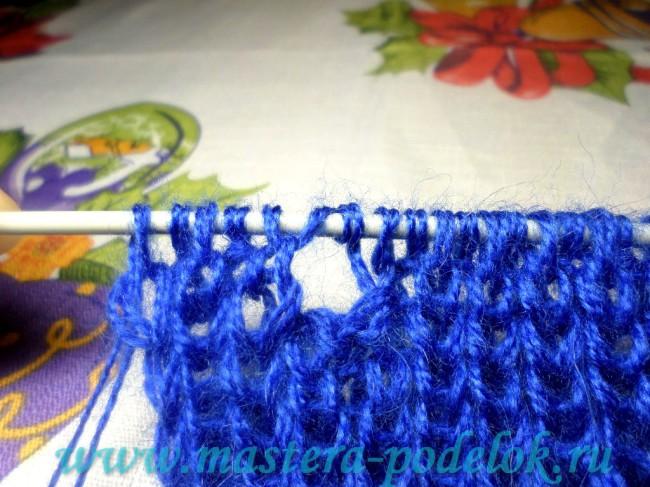 Удобный шарфик на пуговицах