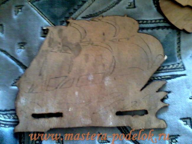 Салфетница из дерева своими руками