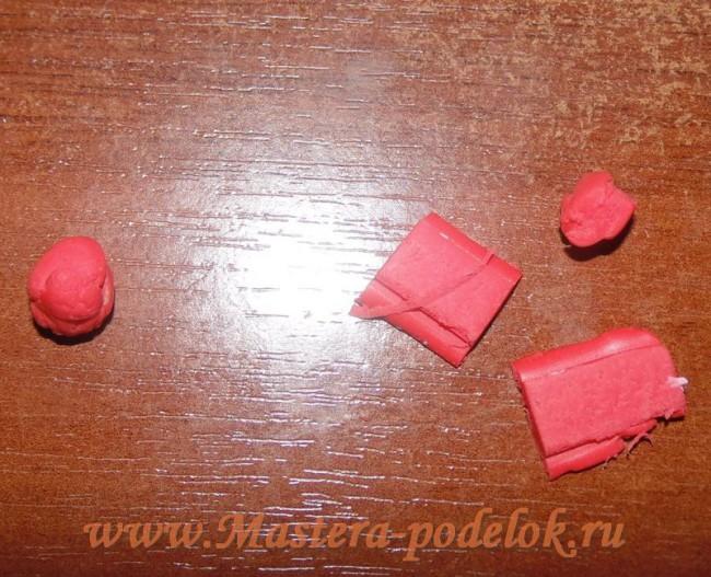 Украшения из полимерной глины «Золотая осень» своими руками. Мастер-класс.